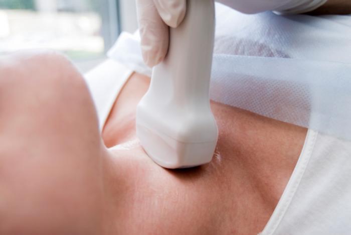 Процедура УЗИ щитовидки