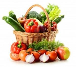 Фрукты и овощи во время диеты перед узи